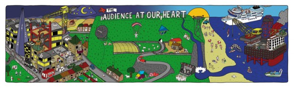 Audience at the Heart outline small